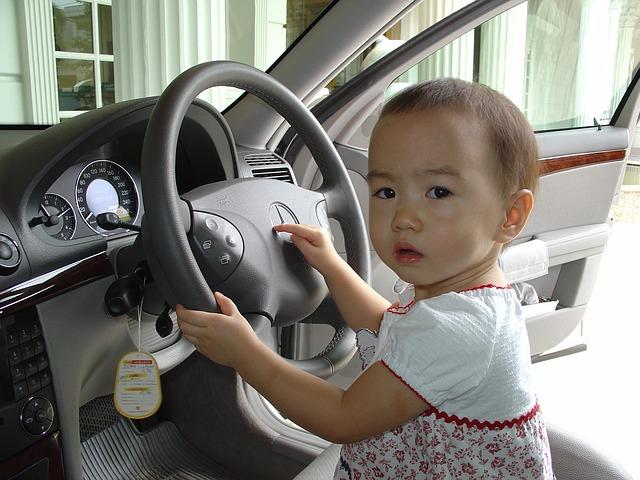 baby drive car